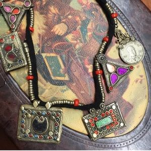 Jewelry - Middle Eastern Kuchi Coin Necklace